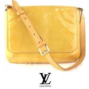 Louis Vuitton Thompson Street Yellow Vernis